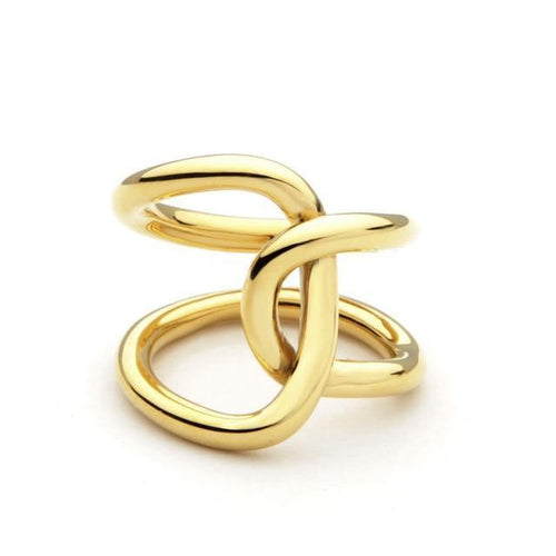 Double Line Infinity Ring, , Gifts for Designers, Clean minimal gifts for designers and creatives, gift, design, designer - Gifts for Designers, Gifts for Architects