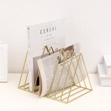 Nordic Style Geometric Rose Gold Minimalist Book Shelf, , Gifts for Designers, Clean minimal gifts for designers and creatives, gift, design, designer - Gifts for Designers, Gifts for Architects