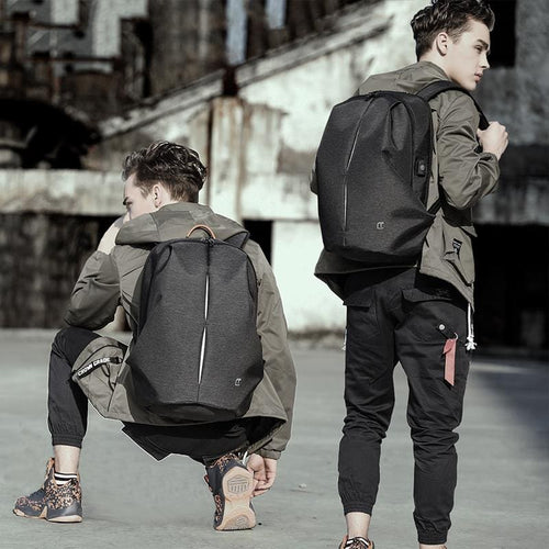 706 Waterproof Men's Anti-theft  Backpack, , Gifts for Designers, Clean minimal gifts for designers and creatives, gift, design, designer - Gifts for Designers, Gifts for Architects