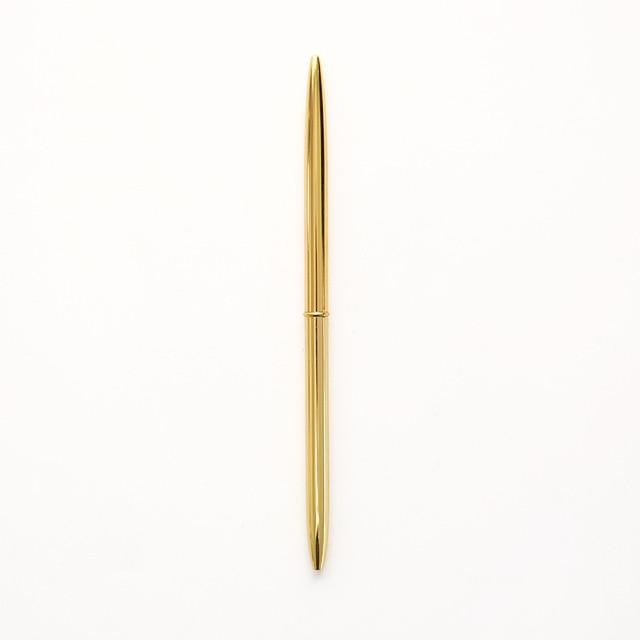 0.7mm Metal Gold Silver Ballpoint Pens, , Gifts for Designers, Clean minimal gifts for designers and creatives, gift, design, designer - Gifts for Designers, Gifts for Architects
