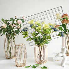 Modern Geometric Minimal Rose Gold Plant Vase, , Gifts for Designers, Clean minimal gifts for designers and creatives, gift, design, designer - Gifts for Designers, Gifts for Architects