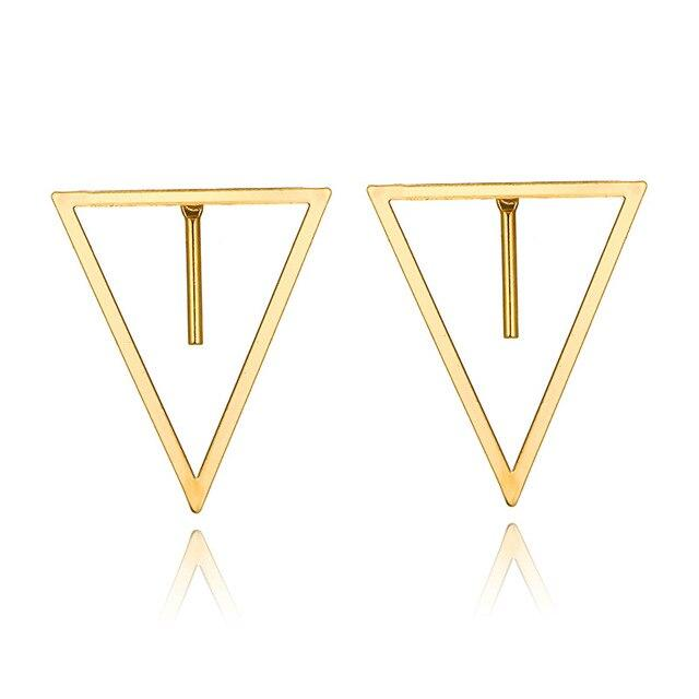 The Fragment | Triangle Minimalist Earring, , Gifts for Designers, Clean minimal gifts for designers and creatives, gift, design, designer - Gifts for Designers, Gifts for Architects
