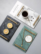 European Gold Handle Marble Tray, , Gifts for Designers, Clean minimal gifts for designers and creatives, gift, design, designer - Gifts for Designers, Gifts for Architects