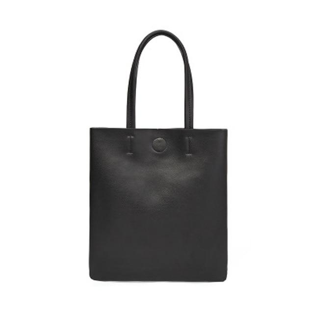 Minimalist Simple Leather Tote Bag, , Gifts for Designers, Clean minimal gifts for designers and creatives, gift, design, designer - Gifts for Designers, Gifts for Architects