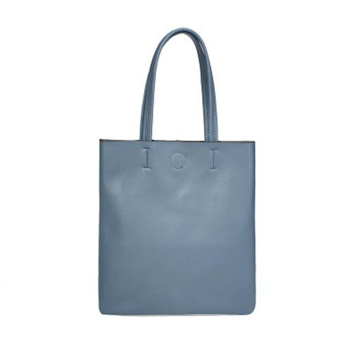 Minimalist Simple Leather Tote Bag