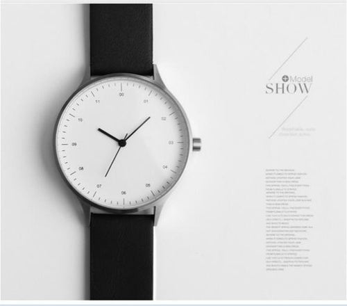 The SVEN | Minimalist Watch with Leather Band, , Gifts for Designers, Clean minimal gifts for designers and creatives, gift, design, designer - Gifts for Designers, Gifts for Architects