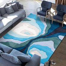 Ocean Contour Rug, , Gifts for Designers, Clean minimal gifts for designers and creatives, gift, design, designer - Gifts for Designers, Gifts for Architects