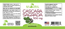 Cascara Sagrada - 500 mg