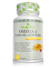 Omega-3 Fish Oil Softgels