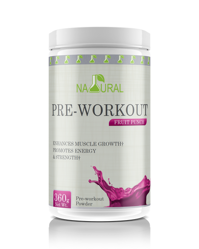 Fruit Punch Pre-Workout Supplement - 360 g
