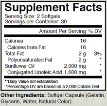 C.L.A Softgels - 1600 mg