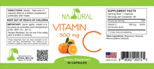 Pure Vitamin C - 500 mg