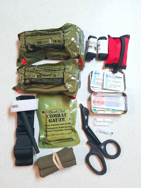 Building Your Individual First Aid Kit (IFAK)
