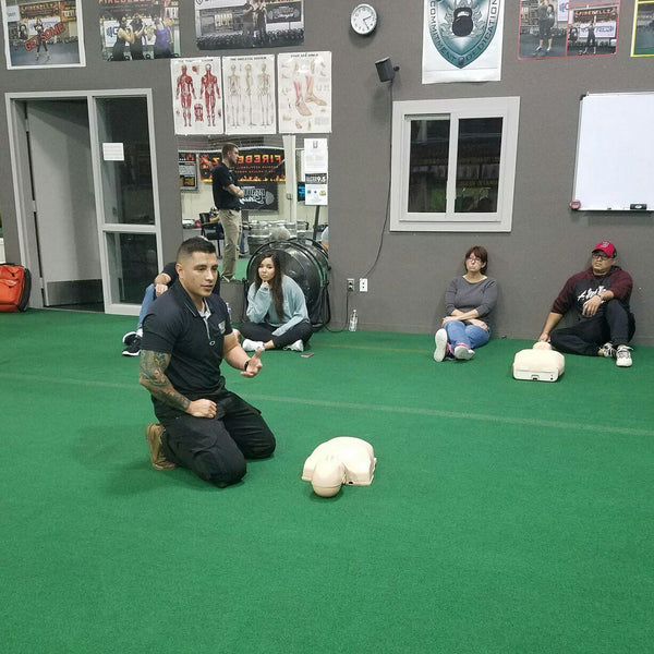 Teaching CPR Training In Albuquerque