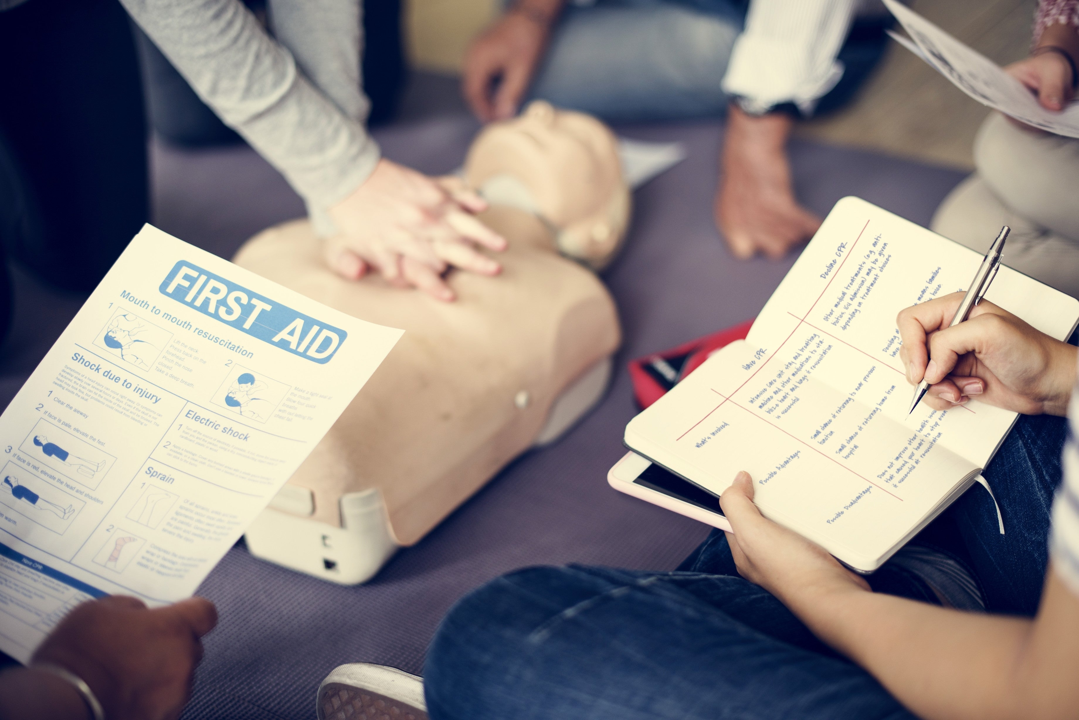 Heartsaver® CPR/CED & First Aid Certification - CaretacticsCPR