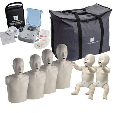 "Prestan – CPR Manikin Set and AED Trainer ""The Complete Instructors Package"" - CaretacticsCPR"