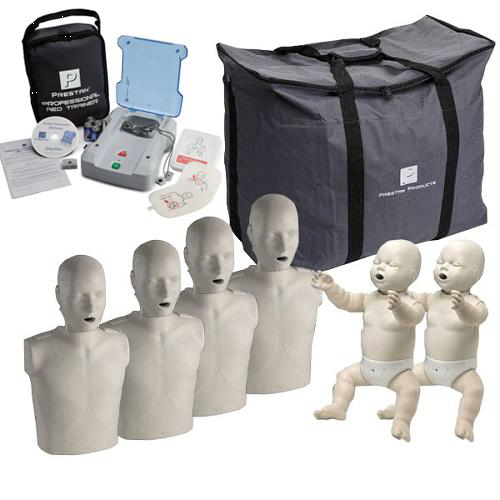"""Prestan – CPR Manikin Set and AED Trainer """"The Complete Instructors Package"""""""
