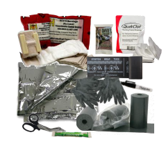 Intermediate Slim Bleeding Control Vacuum Wrapped Kit - CaretacticsCPR