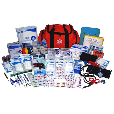 First Responder First Aid Kit, 158-Piece - CaretacticsCPR