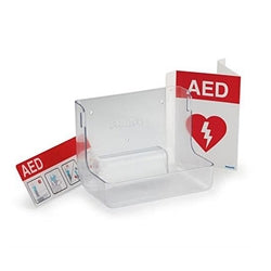 Philips AED Wall Mount and Signage Bundle - CaretacticsCPR