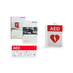 Philips AED Signage Bundle - CaretacticsCPR
