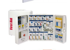 General Business First Aid Kit - ANSI 2015 SmartCompliance for 50 People, 202 Pieces without Medications - CaretacticsCPR
