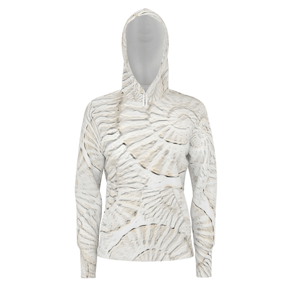 Vortex - Women's Pullover Hoodie Cotton (350gsm)_artist-Carlo-Bressan_Breathing-Wellness