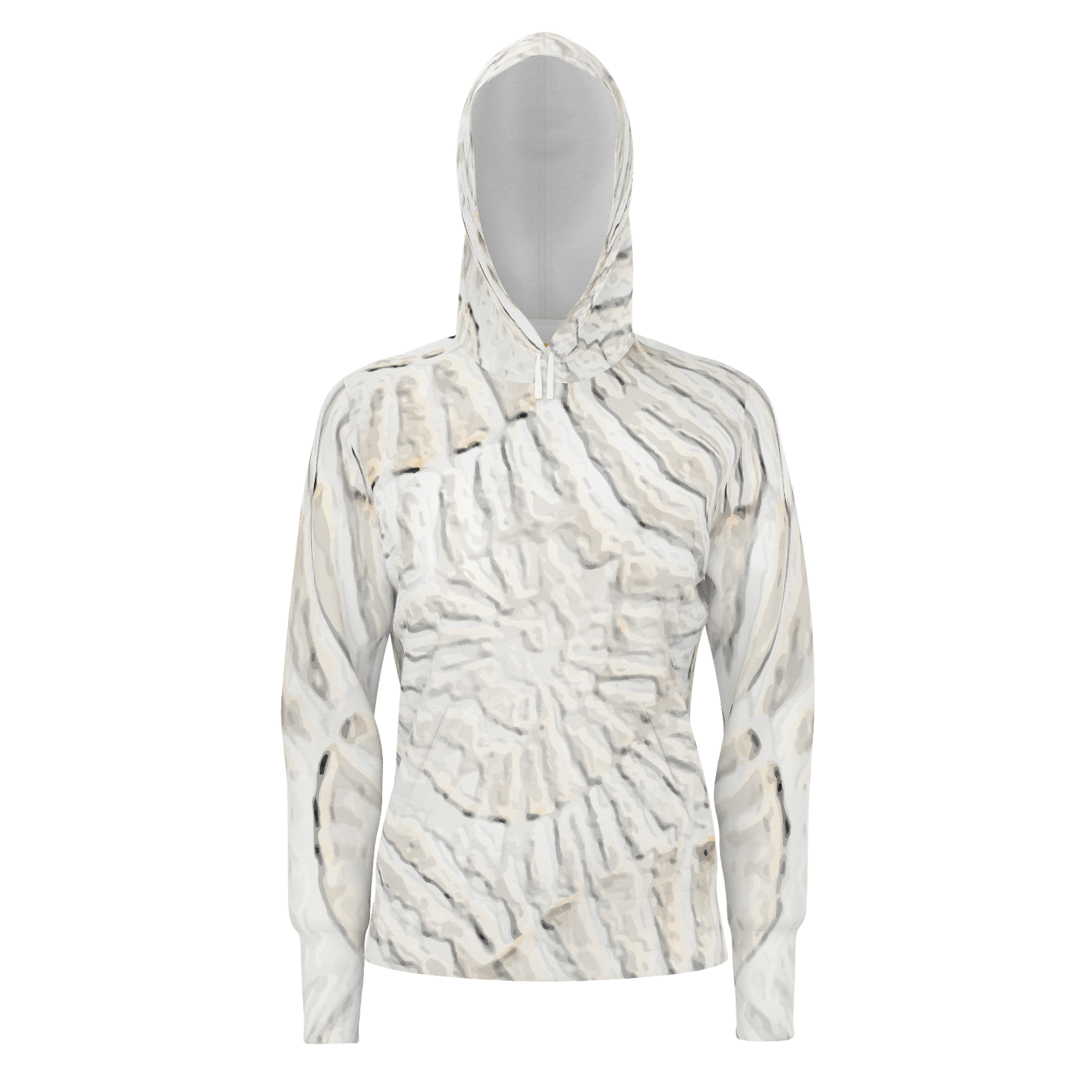 Radiance - Women's Set-in Sleeve Pullover 2 piece Hoodie (260gsm)_artist-Carlo-Bressan_Breathing-Wellness