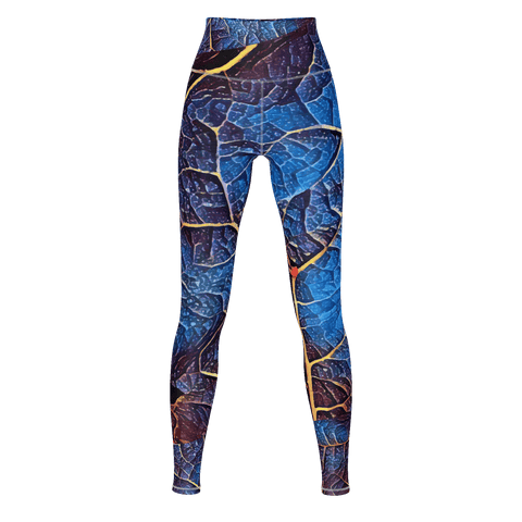 Life Force 2 - Yoga Pants - 4 Way Stretch Leggings_artist-Carlo-Bressan_Breathing-Wellness