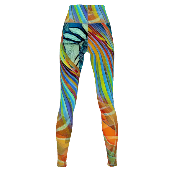 Wassup - Yoga Pants - 4 Way Stretch Leggings_artist-Carlo-Bressan_Breathing-Wellness