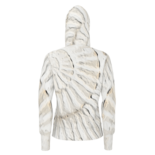I Feel Radiant - Women's Pullover Hoodie Cotton 350gsm_artist-Carlo-Bressan_Breathing-Wellness