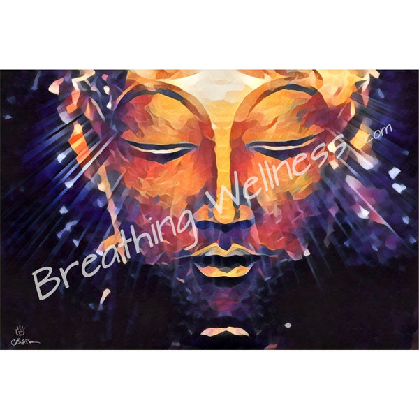 Breathing Buddha - Inspirational Art Collection_artist-Carlo-Bressan_Breathing-Wellness
