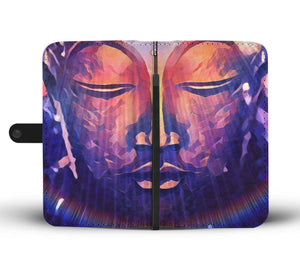 Breathing Buddha - Wallet Phone Case_artist-Carlo-Bressan_Breathing-Wellness