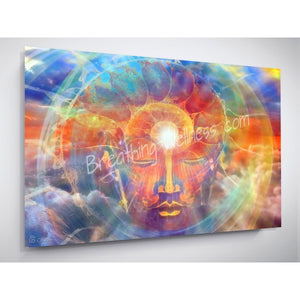 Breathing Buddha Sky - Inspirational Art Collection_artist-Carlo-Bressan_Breathing-Wellness