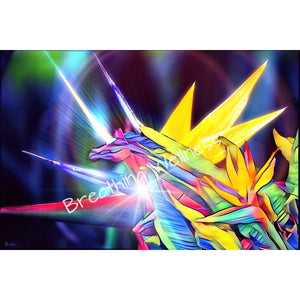 Hawaiian Unicorn- Hawaiian Art Collection_artist-Carlo-Bressan_Breathing-Wellness