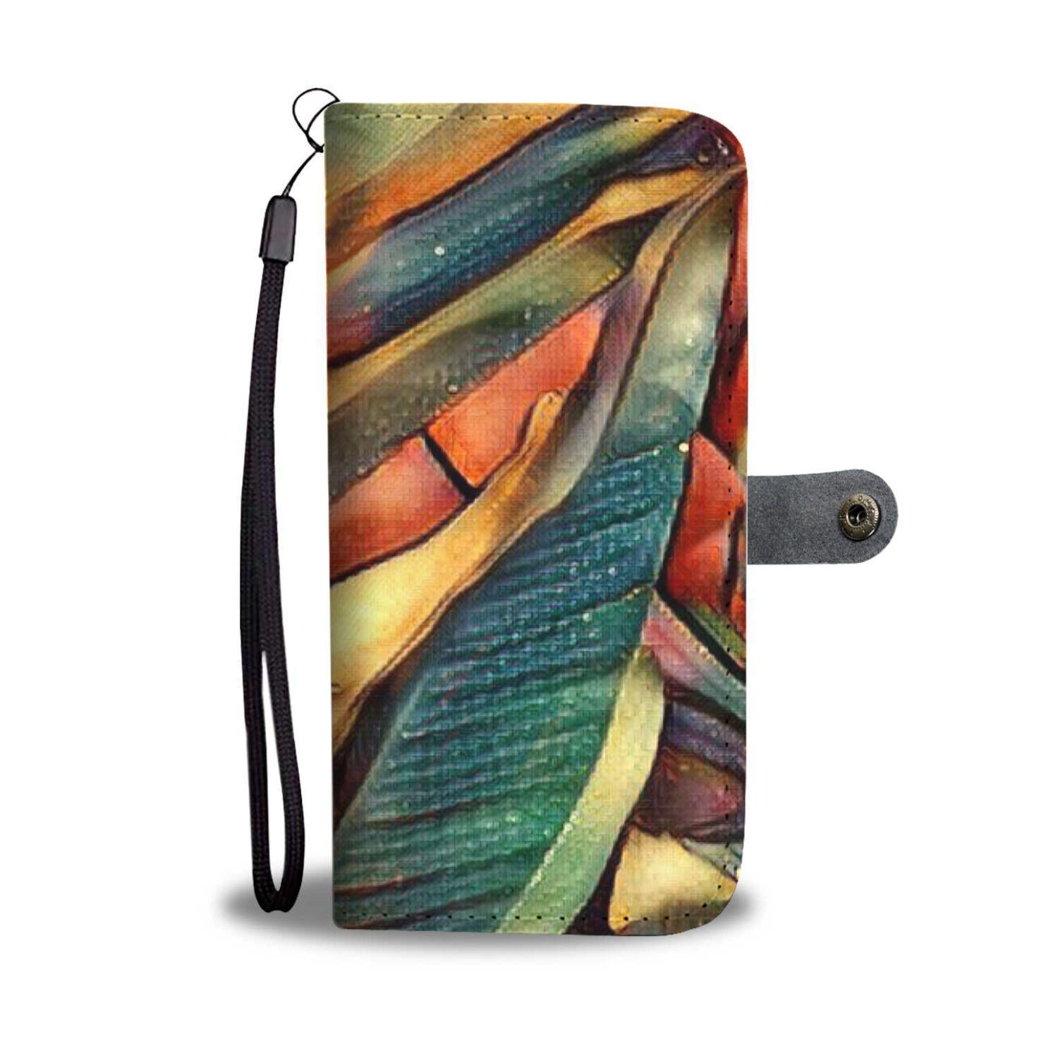 I Love My Wallet 3 - Wallet Phone Case_artist-Carlo-Bressan_Breathing-Wellness