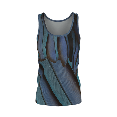 Just Fly - Deluxe Tank Top 100% Pima Cotton_artist-Carlo-Bressan_Breathing-Wellness