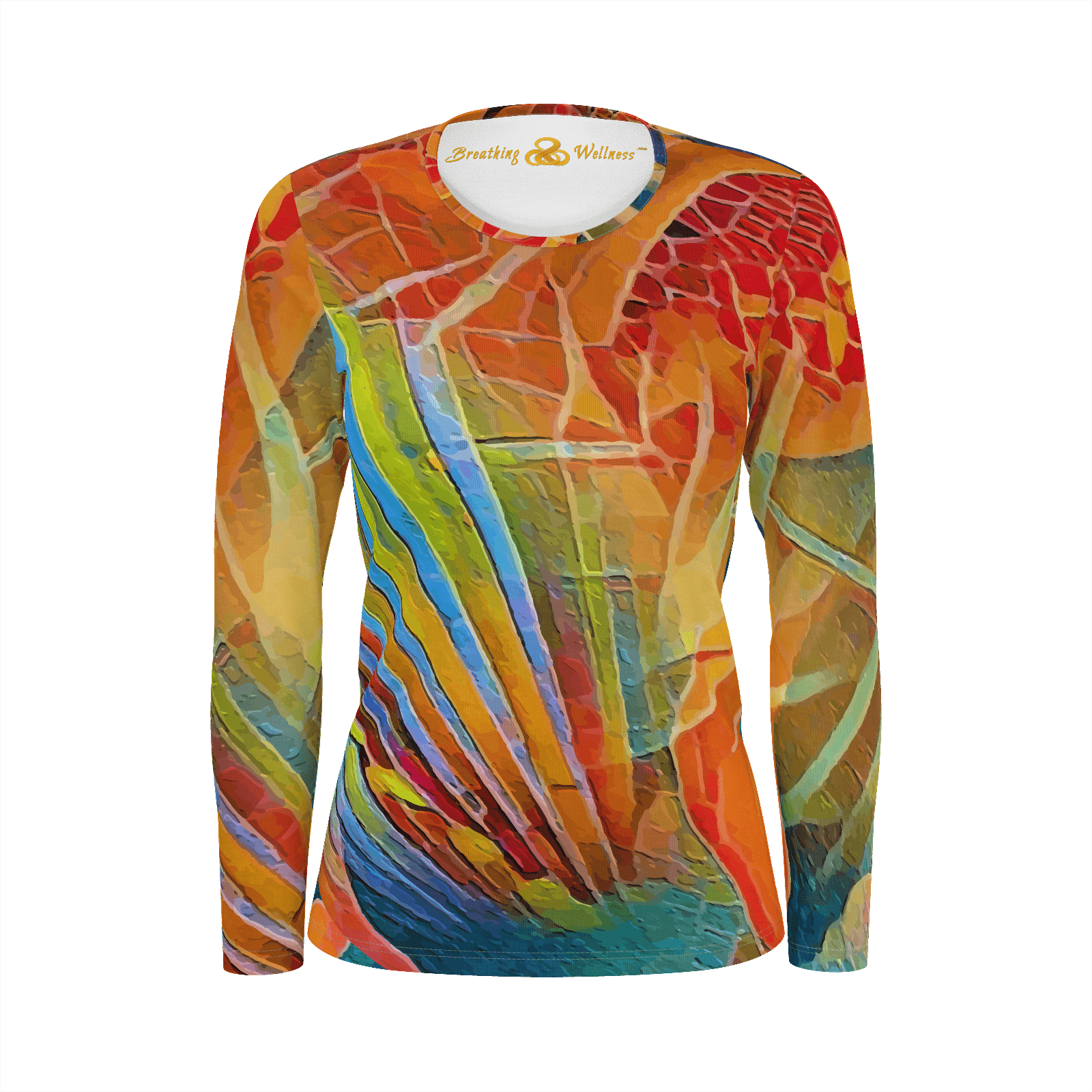 Looking Good - Long Sleeve T-Shirt Deluxe Pima Cotton_artist-Carlo-Bressan_Breathing-Wellness