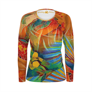 My Way - Deluxe Long Sleeves T-Shirt 100% Pima Cotton_artist-Carlo-Bressan_Breathing-Wellness