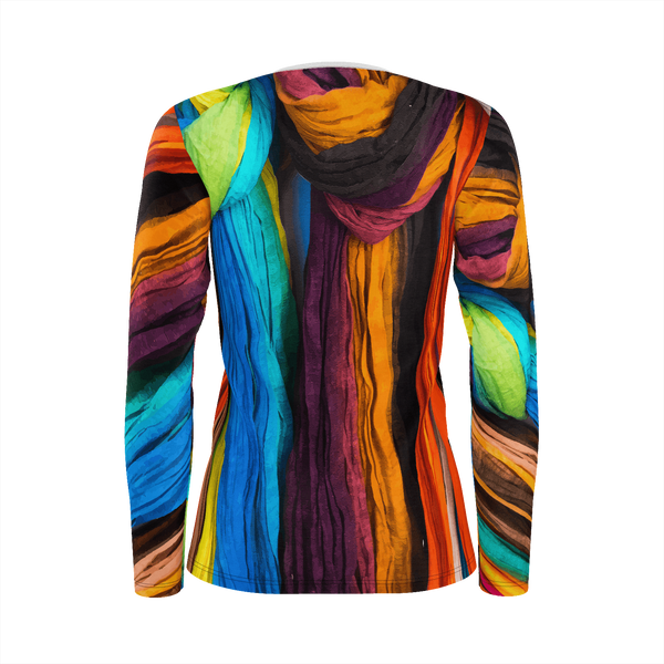 Natural Woman 2 - Long Sleeve Deluxe Pima Cotton_artist-Carlo-Bressan_Breathing-Wellness