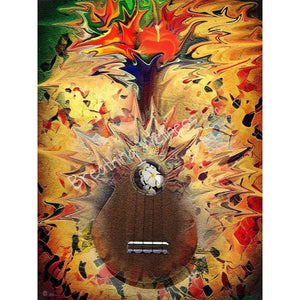 Power of Music - Large Size Wall Art_artist-Carlo-Bressan_Breathing-Wellness