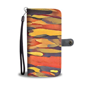 Rainbow Tree - Wallet Phone Case_artist-Carlo-Bressan_Breathing-Wellness