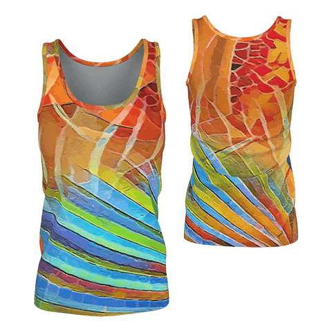 Wrap It Up - Deluxe Women's Tank Top 100% Pima Cotton