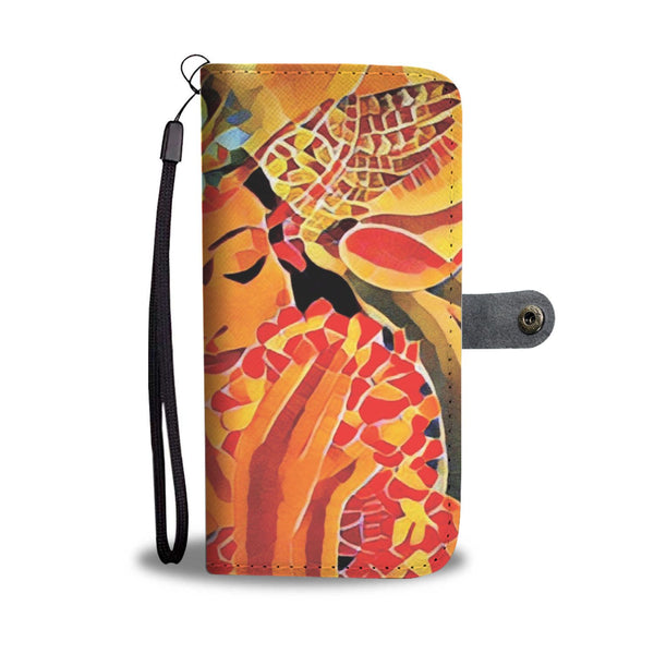 Vintage Hawaii - Wallet Phone Case #1_artist-Carlo-Bressan_Breathing-Wellness