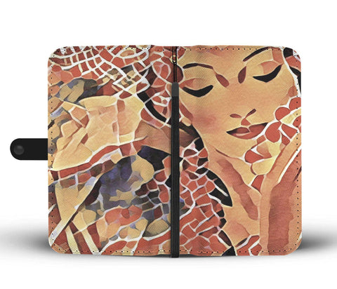 Vintage Hawaii - Wallet Phone Case #3s_artist-Carlo-Bressan_Breathing-Wellness