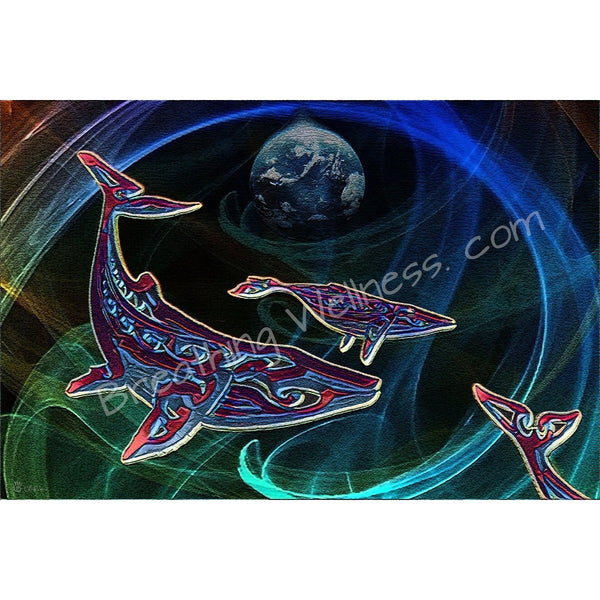 Whales Song: The Voice - Hawaiian Art Collection_artist-Carlo-Bressan_Breathing-Wellness