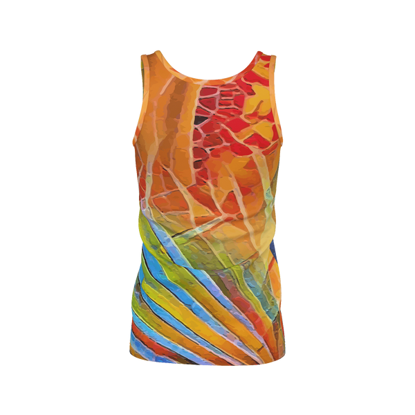 Wrap It Up - Deluxe Women's Tank Top 100% Pima Cotton_artist-Carlo-Bressan_Breathing-Wellness