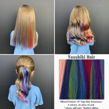 "18"" Tape Hair  10peices Pack"
