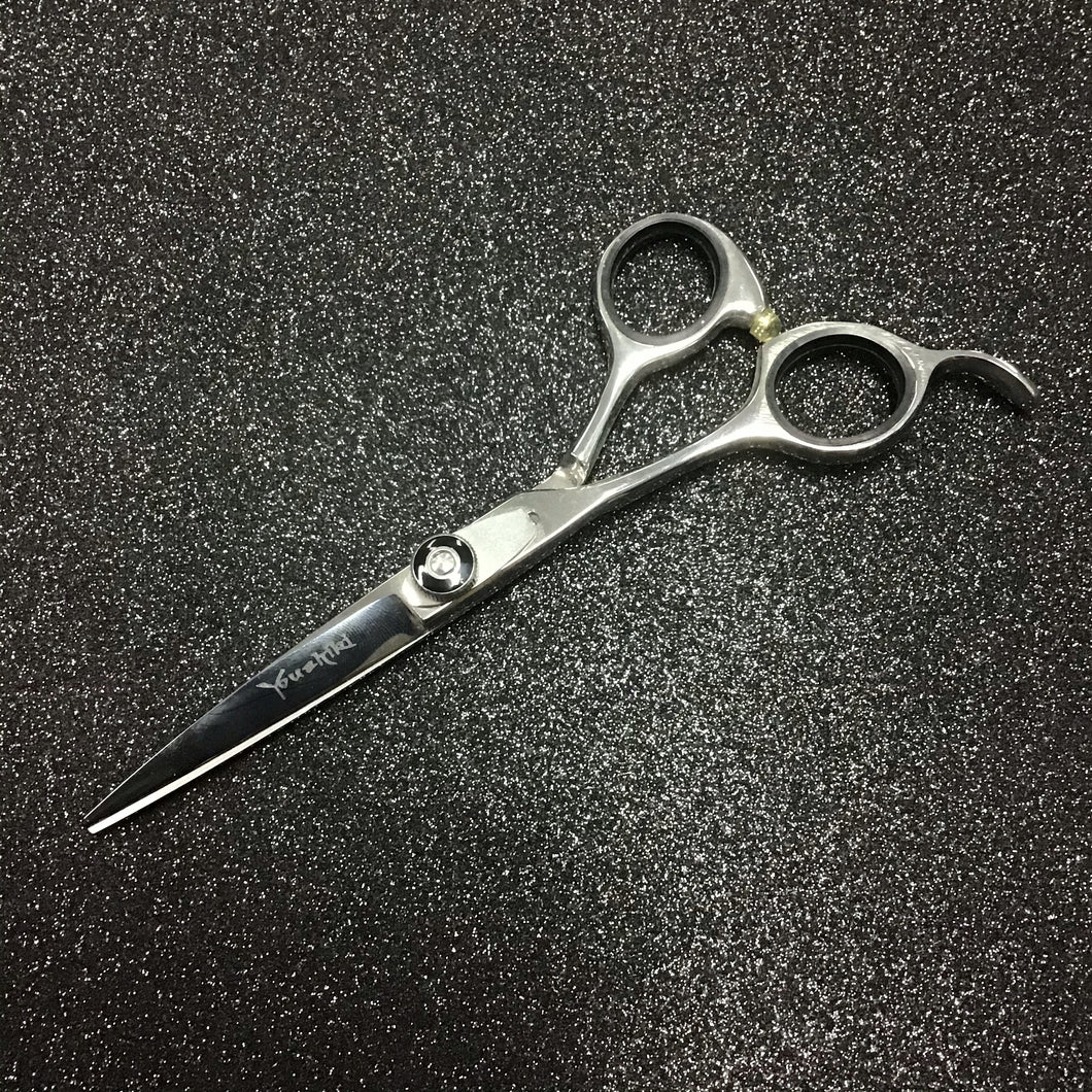 "Left 5.5"" Silver Scissors Professional"