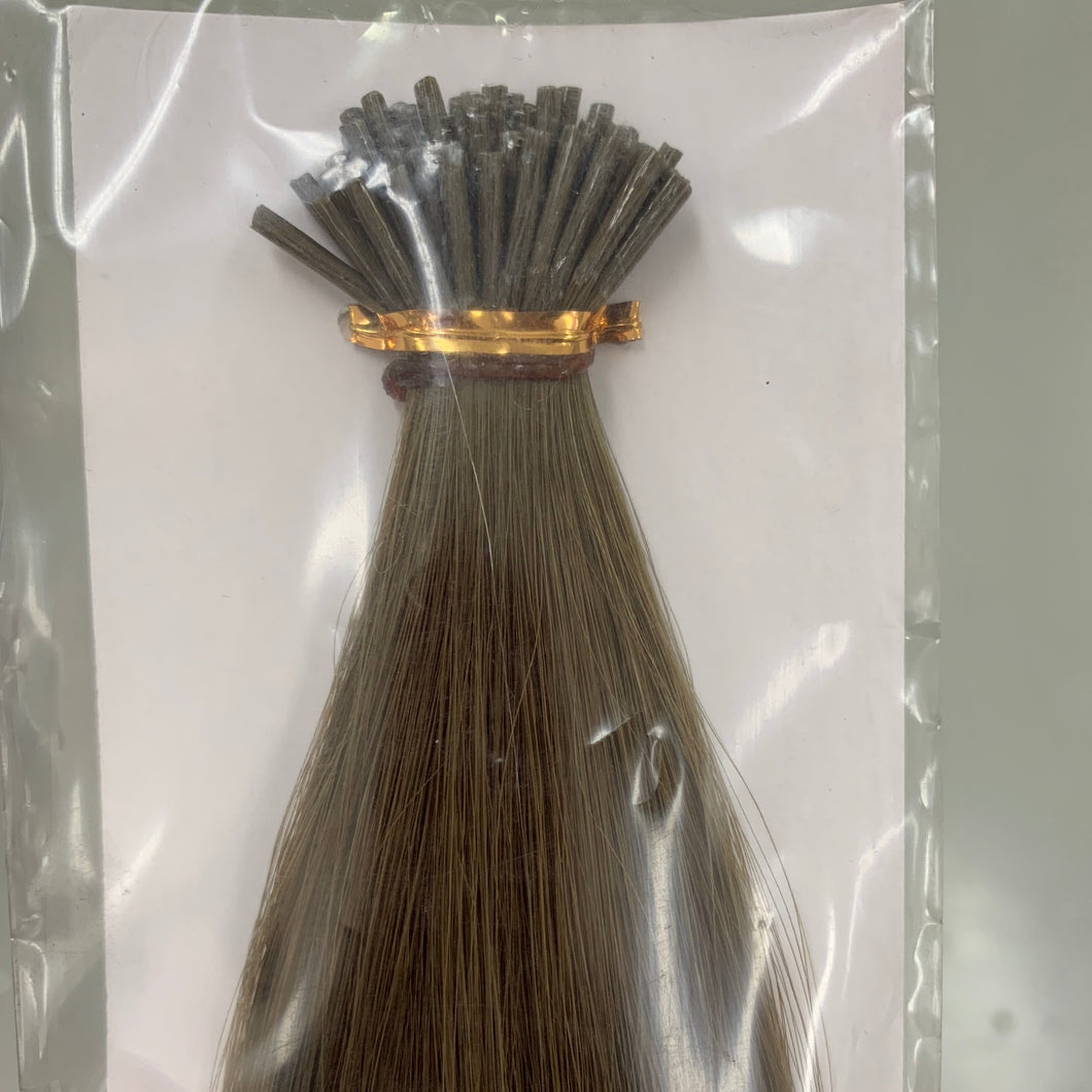 "Itip 18"" #8 Ash Micro link hair extensions SALE"